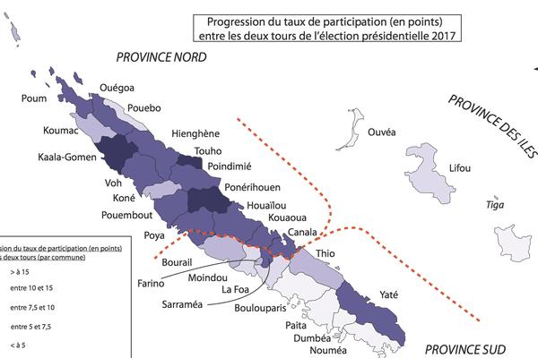 Progression de la participation élection présidentielle 2nd tour