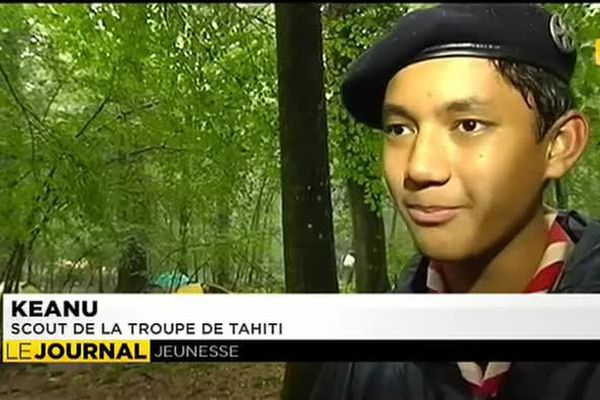 Retour à la maison pour les « scouts d'Europe » de Tahiti.