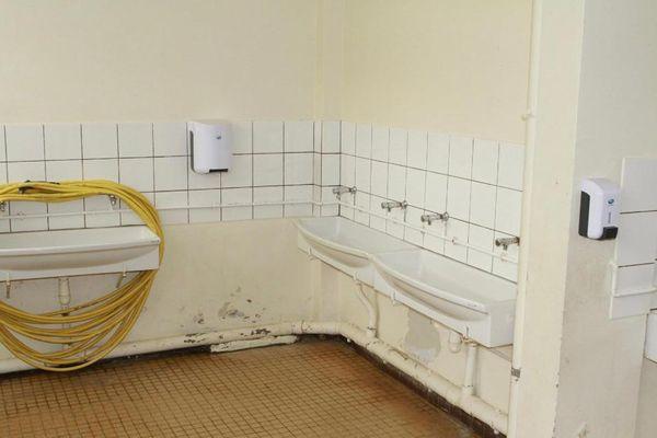 Toilettes / école