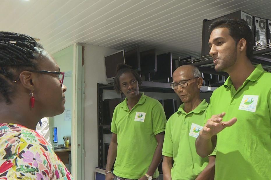 Fin de la visite ministérielle : le numérique et la jeunesse au programme du jour - Guyane la 1ère