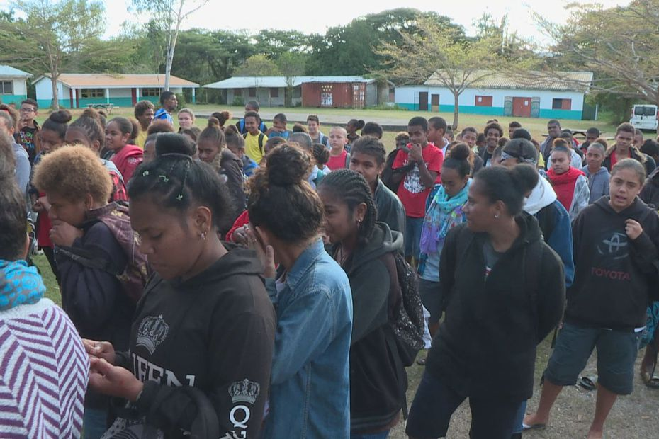 Kaala-Gomen : la reprise au centre scolaire de Baganda - Nouvelle-Calédonie la 1ère