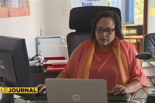 Femme au travail à Mayotte