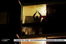 Les soignants calédoniens sont applaudis chaque soir à 19h par la population