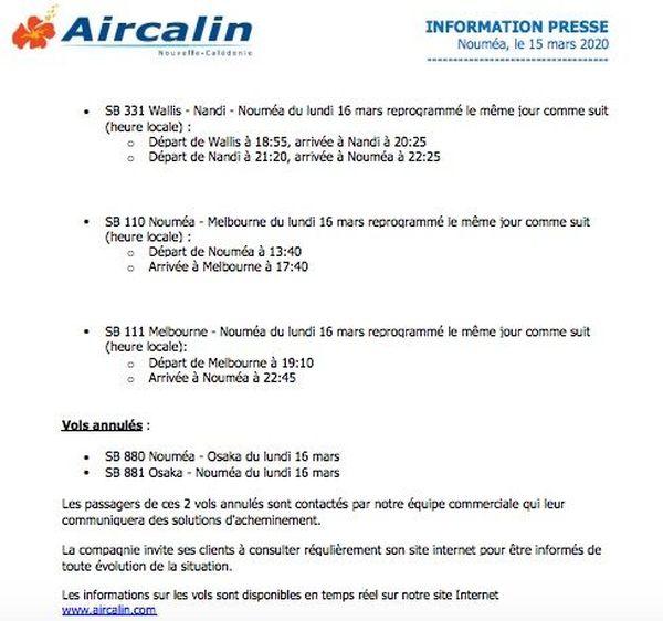 Gretel info Aircalin 2