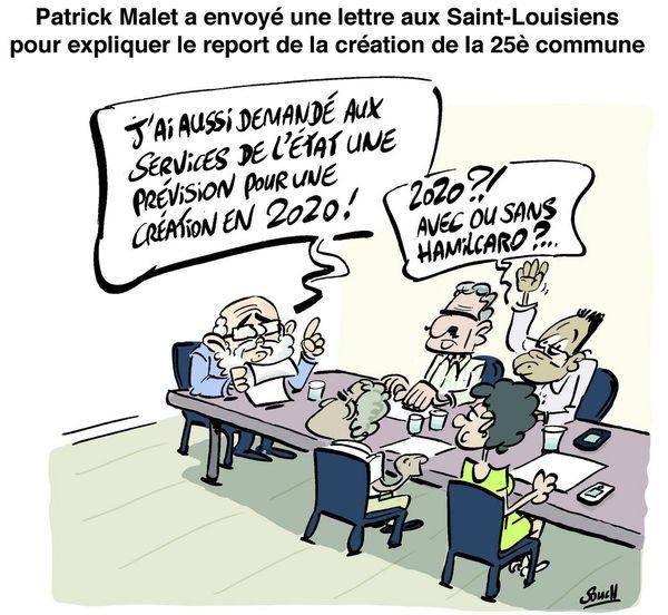 Le dessin de Souch : report 25ème commune