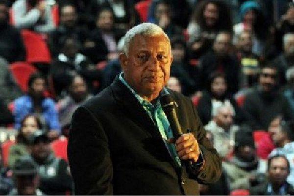 Le Premier ministre fidjien, Frank Bainimarama. (
