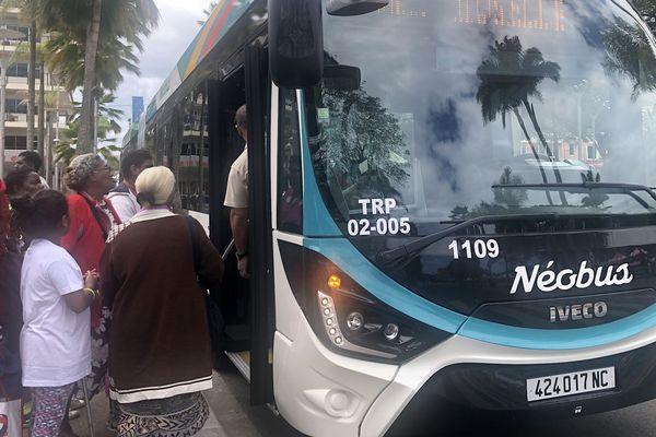 Journée de la mobilité, Néobus, Nouméa, 18 septembre 2019