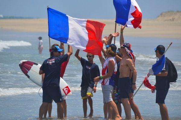Equipe de France de surf à Salinas