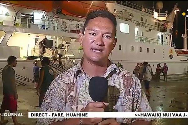 Hawaiki nui 2018 : regain d'activité à Huahine à 48 heures du départ