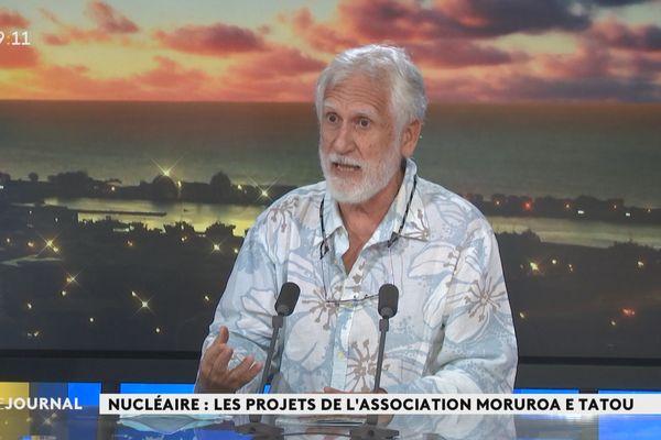 Hiro Tefaarere veut une indemnisation globale des victimes du nucléaire