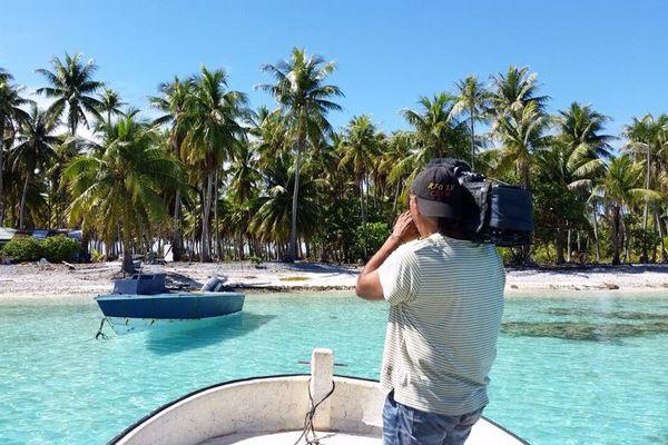 Une équipe de Polynésie1ère s'est rendue sur l'atoll de Toau