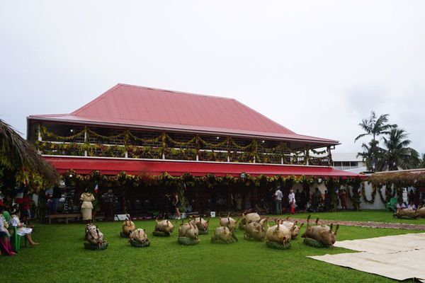 Palais royal Sagato Soane à Wallis