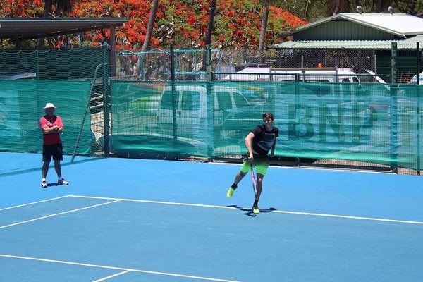 Taylor Fritz avait battu Marin Cilic, le n°7 mondial, à Indian Wells.