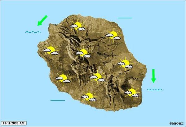 Carte météo 13 11 2020