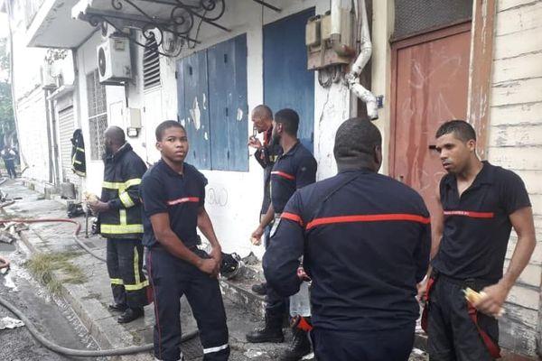 Incendie rue Victor Hugo 2