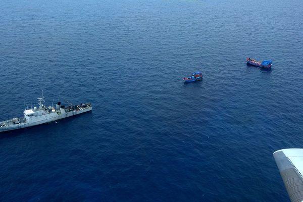 blue boats arraisonnement FANC