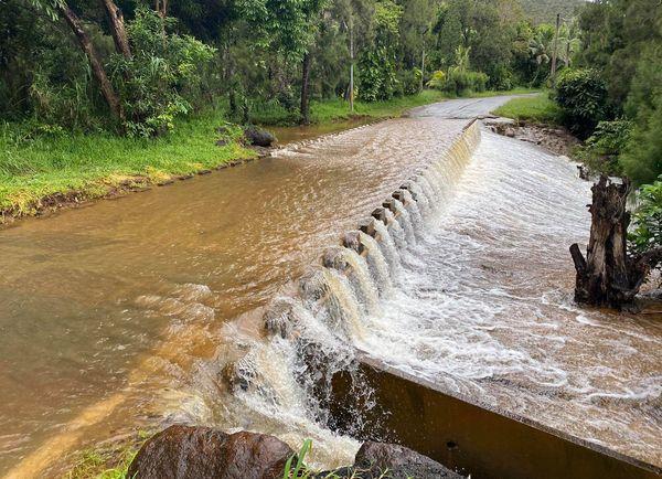 Etat des routes après les pluies, Chagrin, 20 janvier 2021