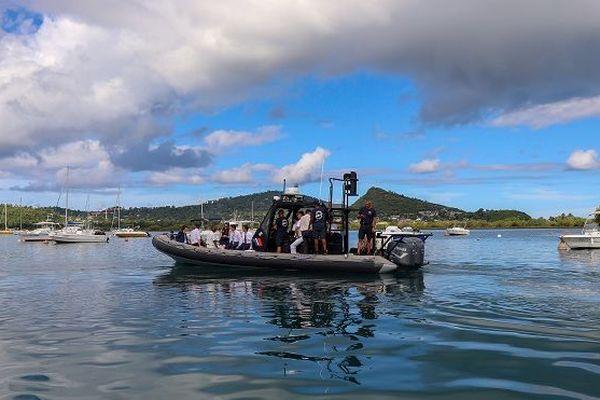 Photo intercepteur Mayotte Castaner