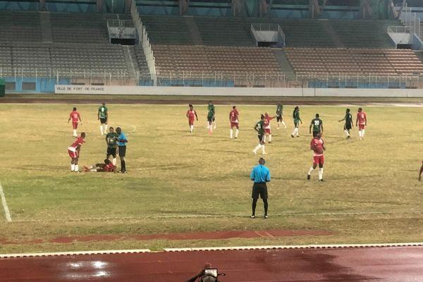Match de football Club Franciscain / Rc Saint Joseph