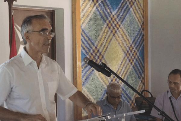 Le Préfet Jean-Francis Treffel a donné le coup d'envoi des Assises de l'outre-mer à Wallis et Futuna.