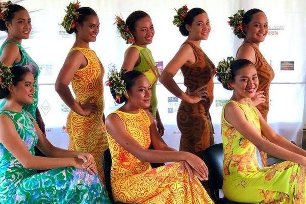 les 8 candidates à Miss Wallis et Futuna 2019