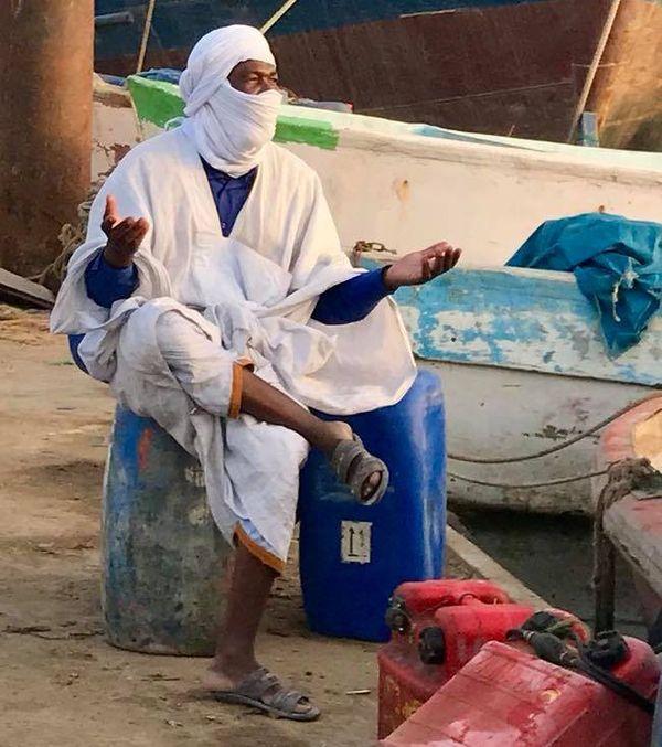 Spirit of Nouméa en Afrique : costume Mauritanie (2017)