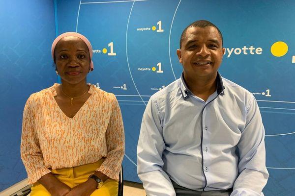 Zouhourya Mouayad Ben se présente dans le canton de Mtsamboro avec Abdoul Kamardine
