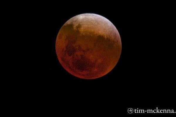 facebook lune rouge Tim McKenna