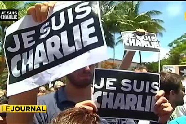 Attentat Charlie Hebdo : les ultramarins se mobilisent