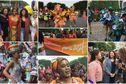 Un carnaval tropical sur les Champs-Elysées en faveur de la candidature de Paris aux JO de 2024