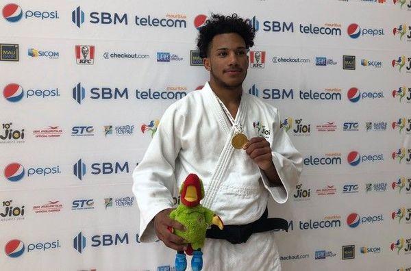 JIOI 2019 Judo Clément Grimaud médaillé d'or en -81kg 230719
