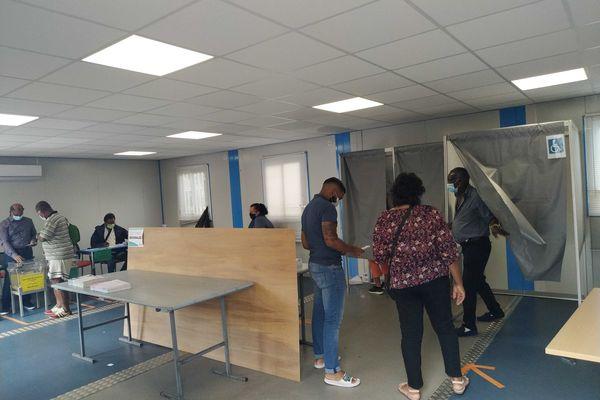 Elections 2021 bureau de vote Saint-André