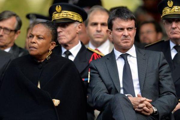 Valls et Taubira