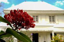 Le domaine de Manapany lors des journées du patrimoine.