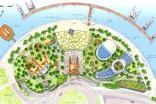 L'esplanade prolongera les jardins de Paofaï