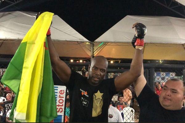 Nahel Lama triple vainqueur de MMA à Oiapoque