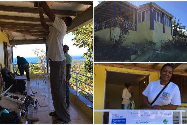 Avec la Fondation de France en Dominique