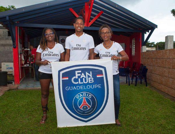 Fan club PSG Guadeloupe