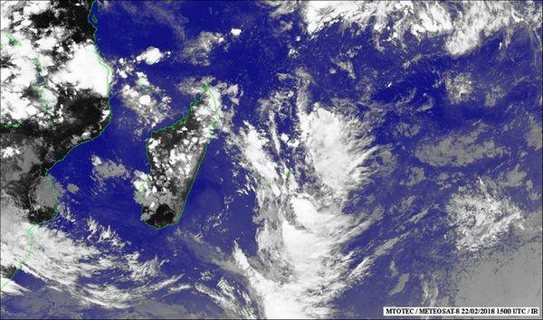 Image satellite 23 février 2018
