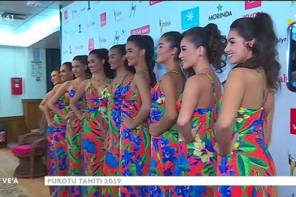 Invités du VEA et du JT : Naari Faugerat,  de la marque « Miss Tahiti » et Leiana  Faugerat,