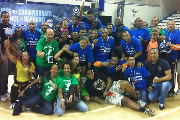 Handball : Château Morange champion de France