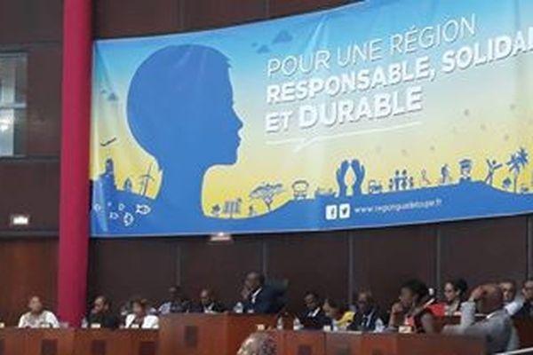 Plénière Région Guadeloupe
