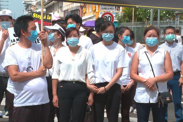 Manifestation de chinois