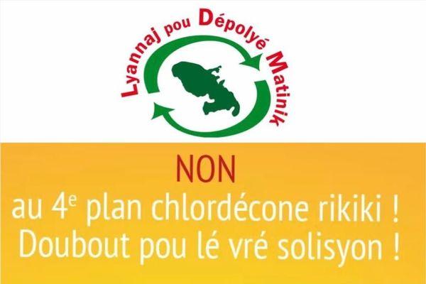 """Plan chlordécone 4 / collectif """"Lyannaj Pou Dépolyé Matinik"""""""