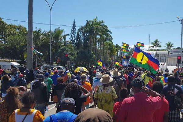 Manifestation contre Century Resources : une mobilisation réussie pour les coutumiers du Sud