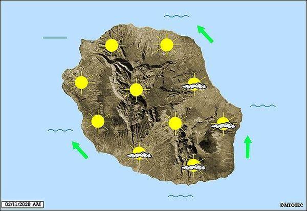 Carte météo 2 novembre 2020
