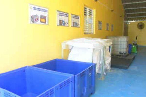 zone de collecte des déchets dangereux