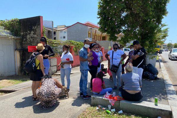 Les réfugiés cubains demandeurs d'asile à Cayenne