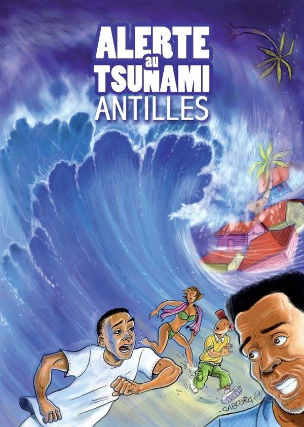 "Première page ""Plaquette Alerte Tsunami"""