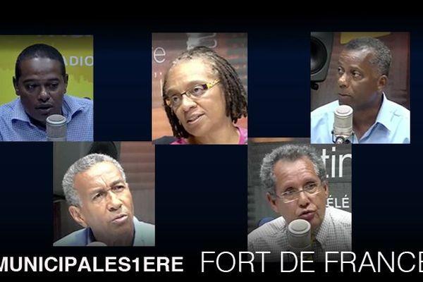 Municipales 1ère : Fort de France